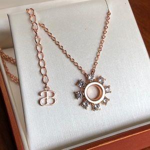 Alicia Bonnie Gloria Rose Gold Vermeil Necklace